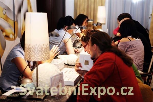 Svatební Expo - výběr snubních prstenů