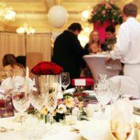 Svatební Expo - ukázková svatební hostina