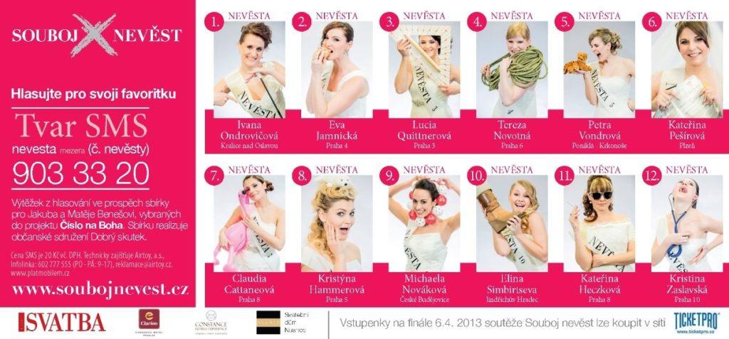 Finalistky soutěže Souboj nevěst 2013