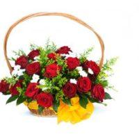Květiny k valentýnu