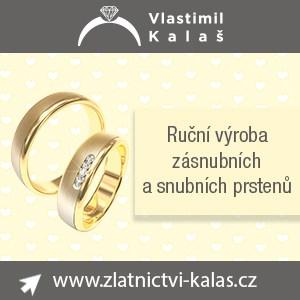 Vlastimil Kalaš - ruční výroba snubních a zásnubních prstenů
