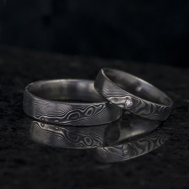 Ručně kované prsteny