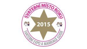 Svatební místo roku 2015