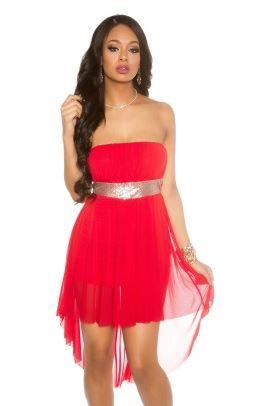 Společenské šaty červené - Style moda