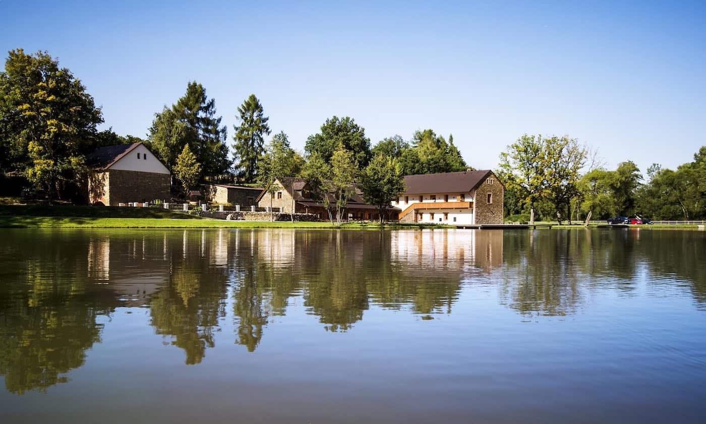 Hodějovický mlýn - rybník