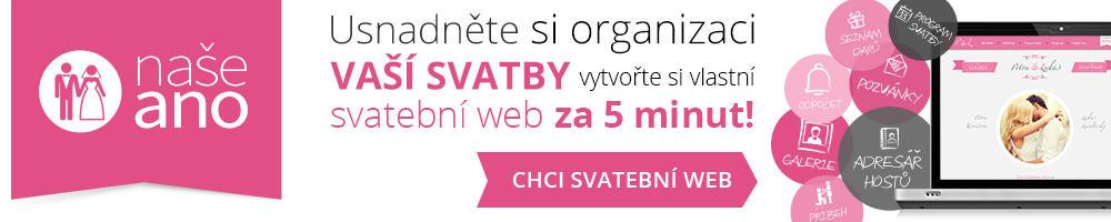 Vytvořte si vlastní svatební web za 5 minut