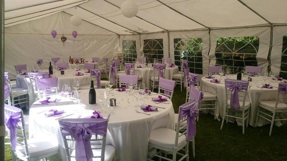 Santini Garden svatební hostina venku