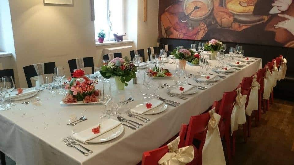 Santini Garden svatební hostina