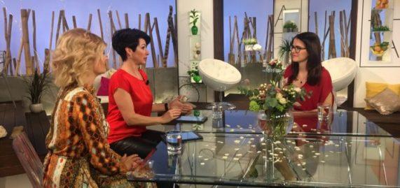 Marcela Vyskočilová v TV pořadu Sama doma