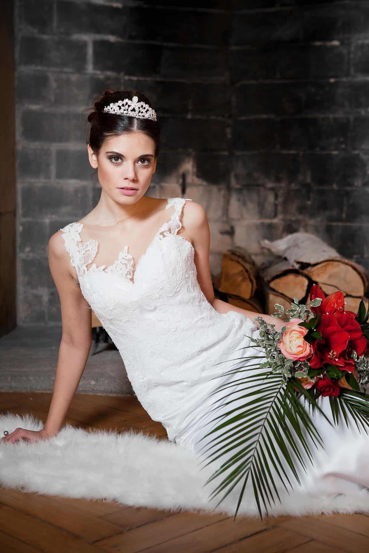 Zámek Průhonice - nevěsta