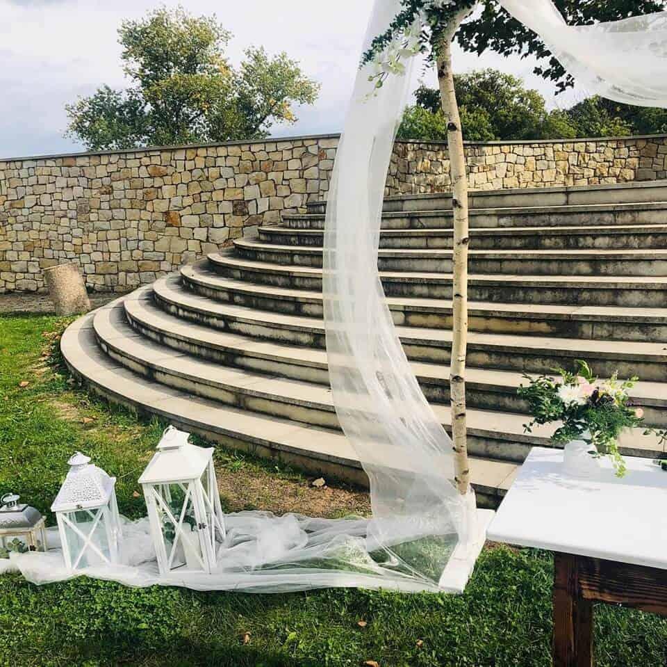 DJ Petr Berka svatební výzdoba obřadu