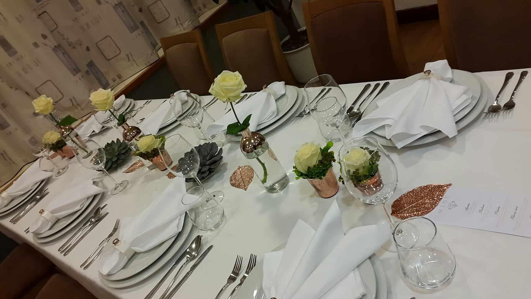 Detail Svatební hostiny hotel Troja