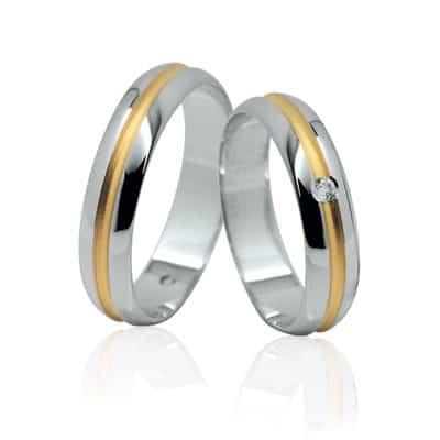 Ráj snubních prstenů Elegance 118K