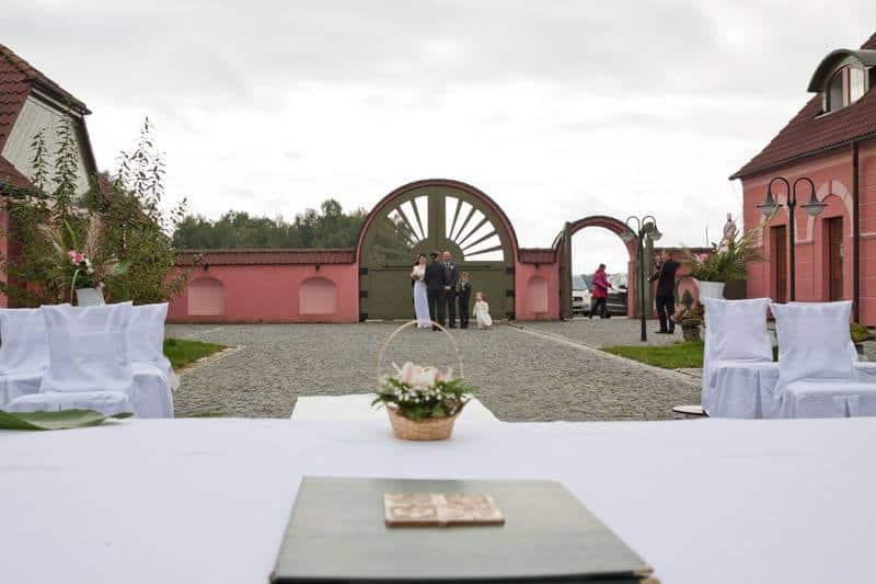 Frankův Dvůr - svatba