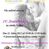 IV. ročník Svatebního dnë 2017 na zámku Valtice