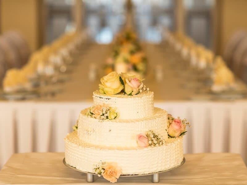 Imperial - svatební dort