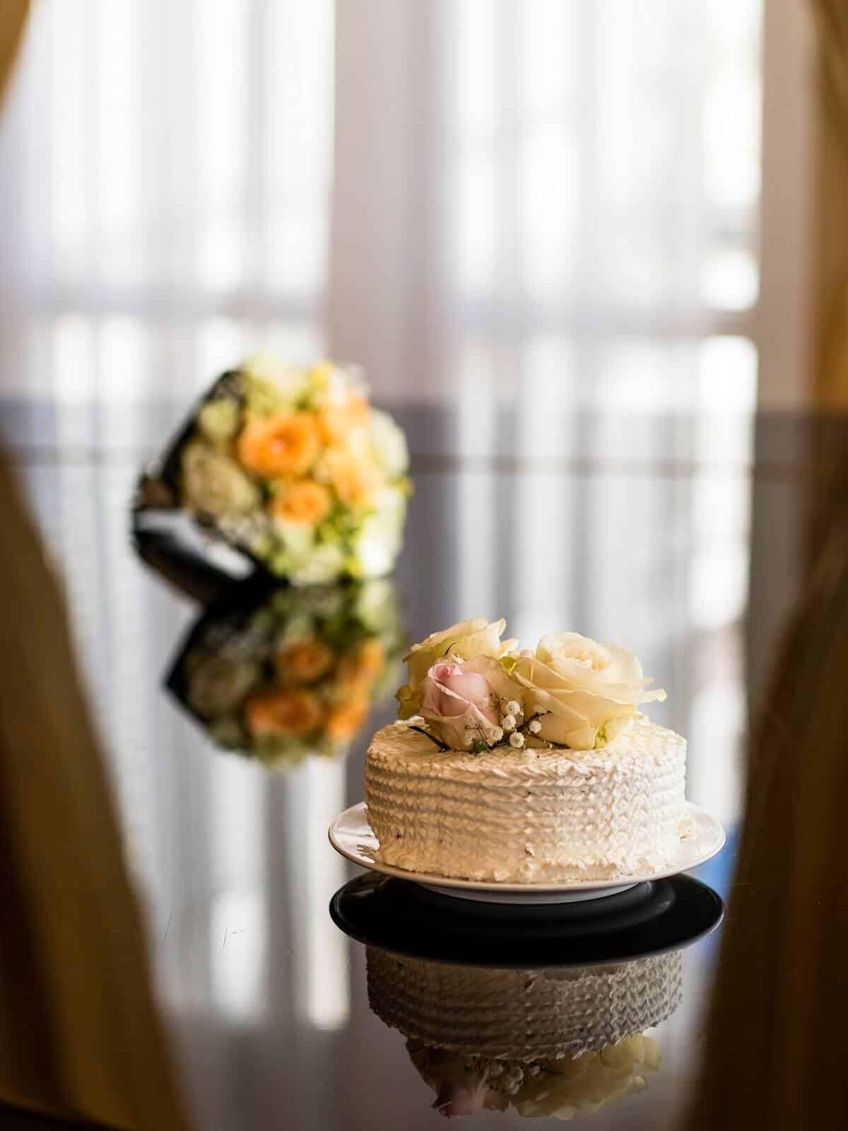 Imperial - svatební dortík