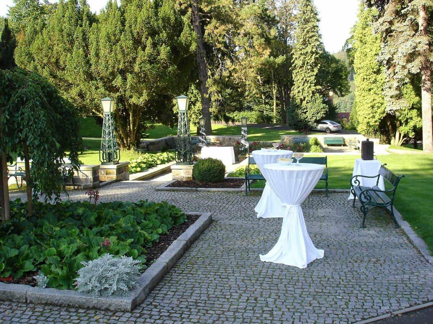 Hotel Imperial zahrada