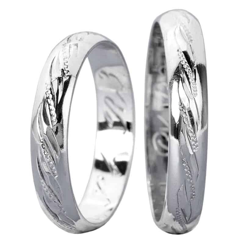 Snubní prsteny Napoli Silver
