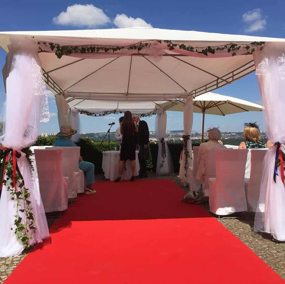 Nebozízek - Svatební obřad