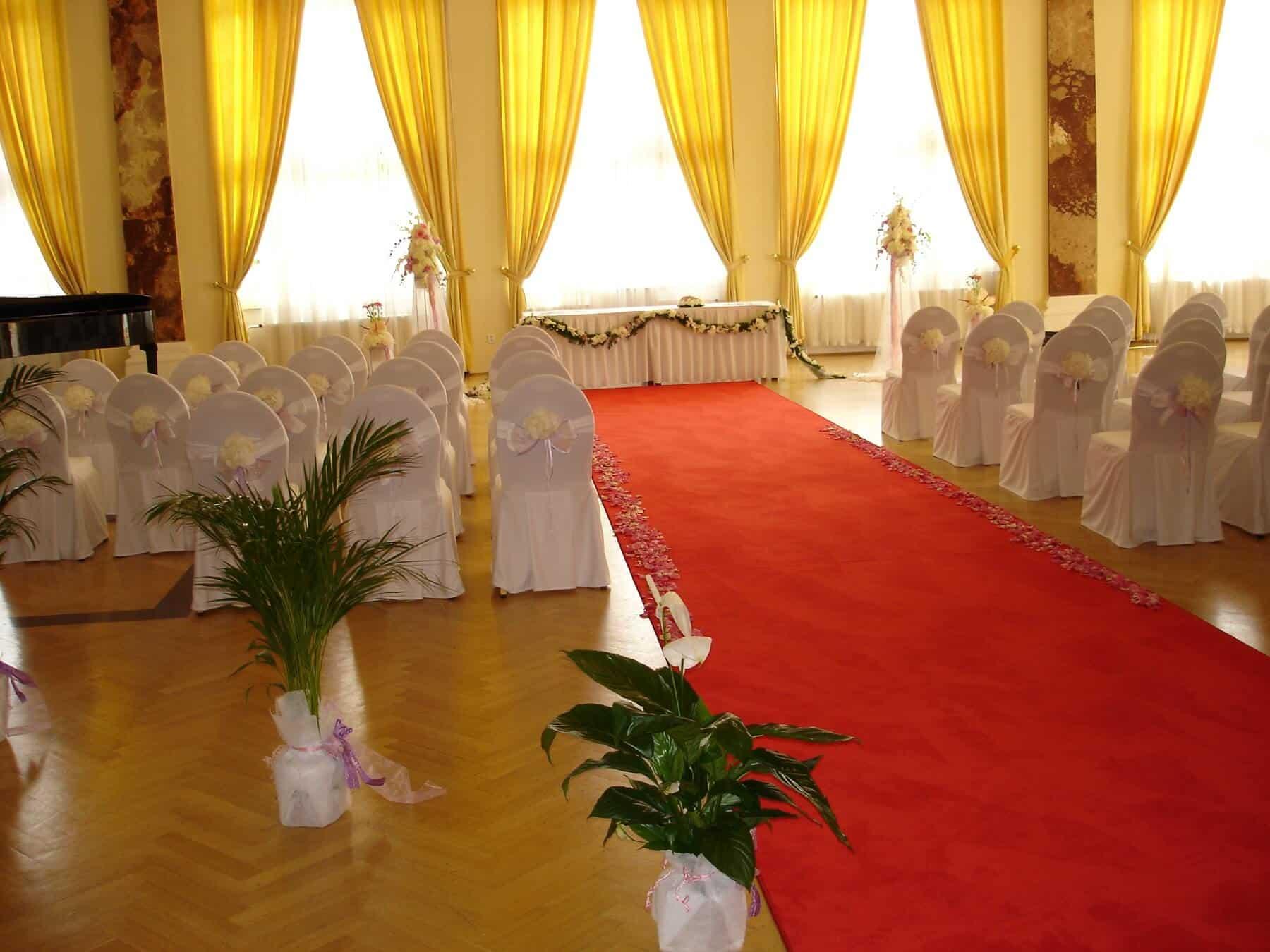 Hotel Imperial - Svatební obřad v Concert Hall