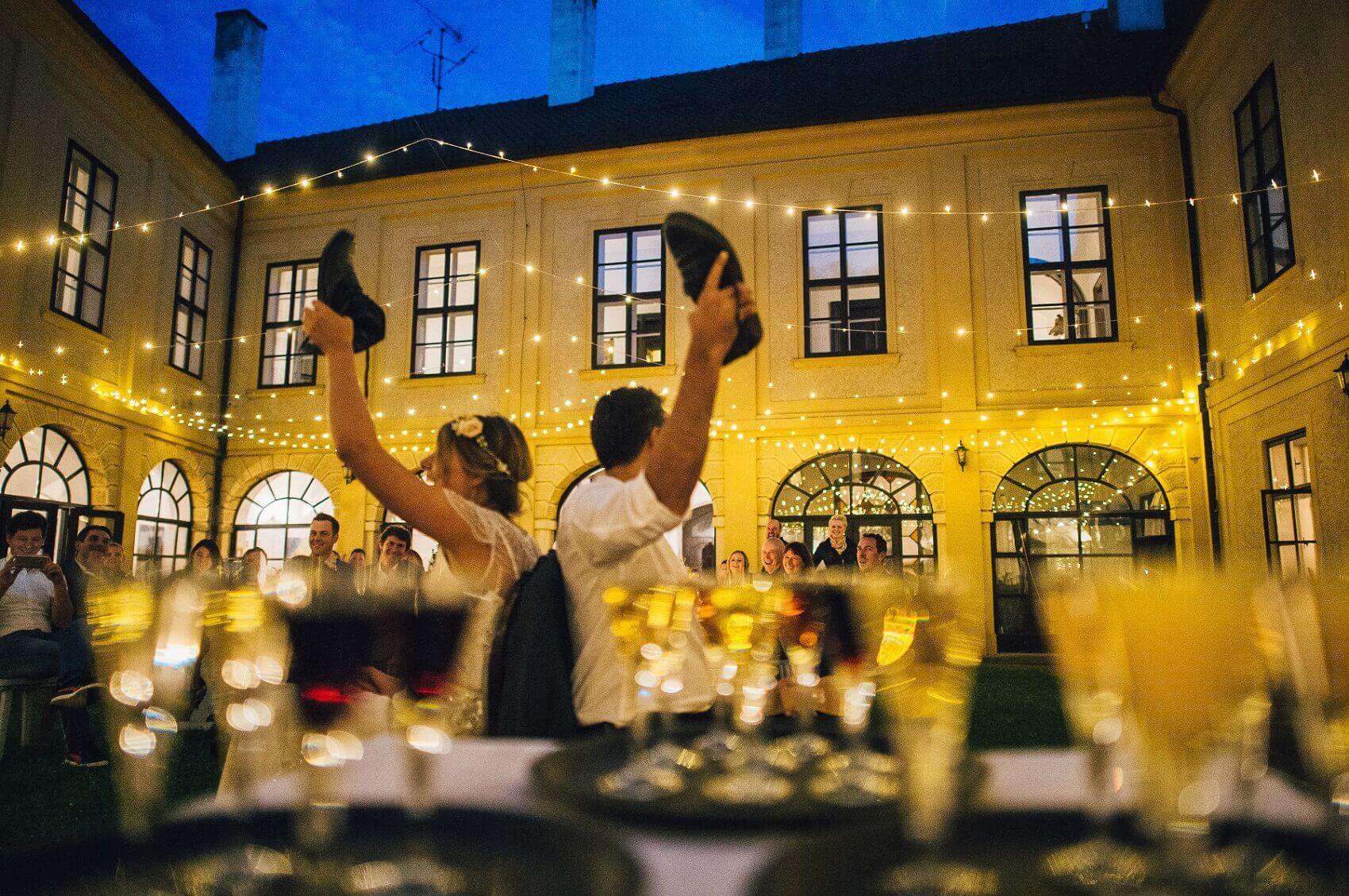 Oslava svatby na Zámku Hostačov