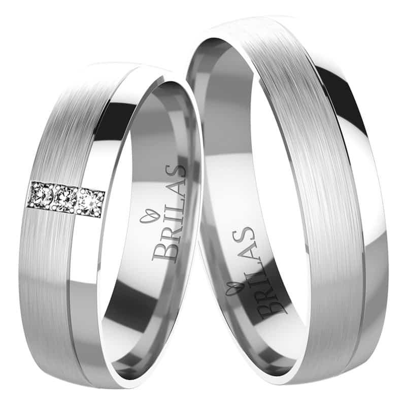 Snubní prsteny Ottavia White