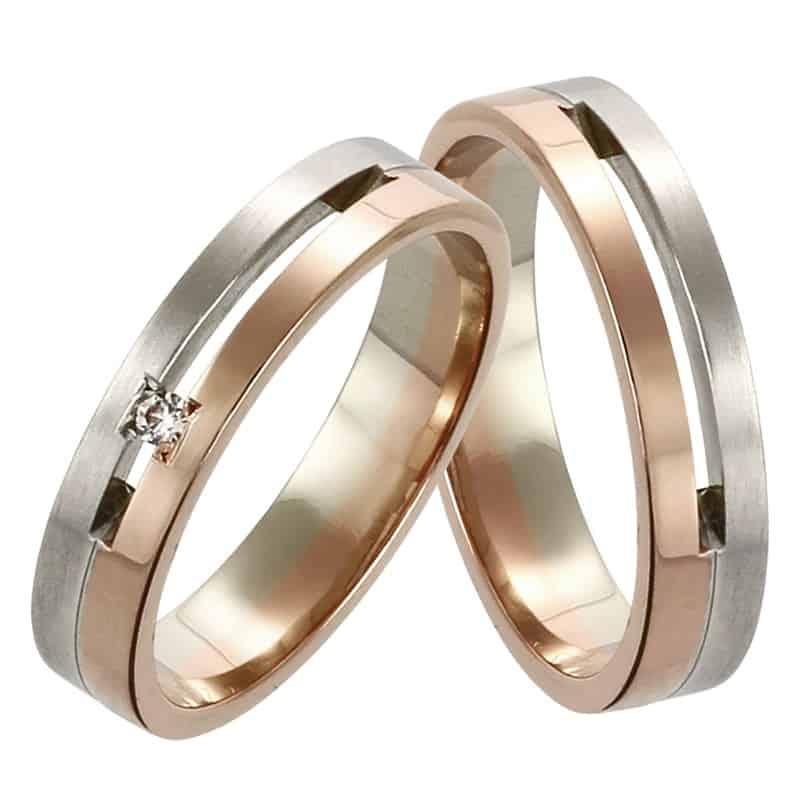 Snubní prsteny Ottaviano Colour