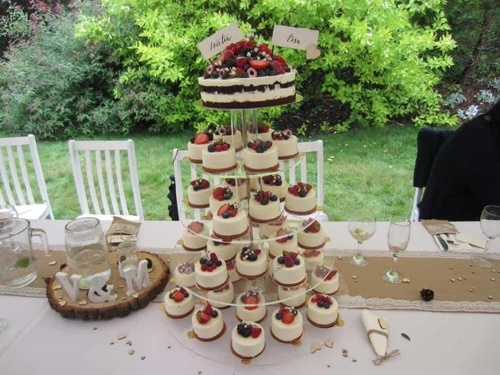Peckův mlýn - svatební dort