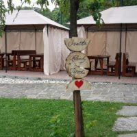 Pivovar Vraník zahrada