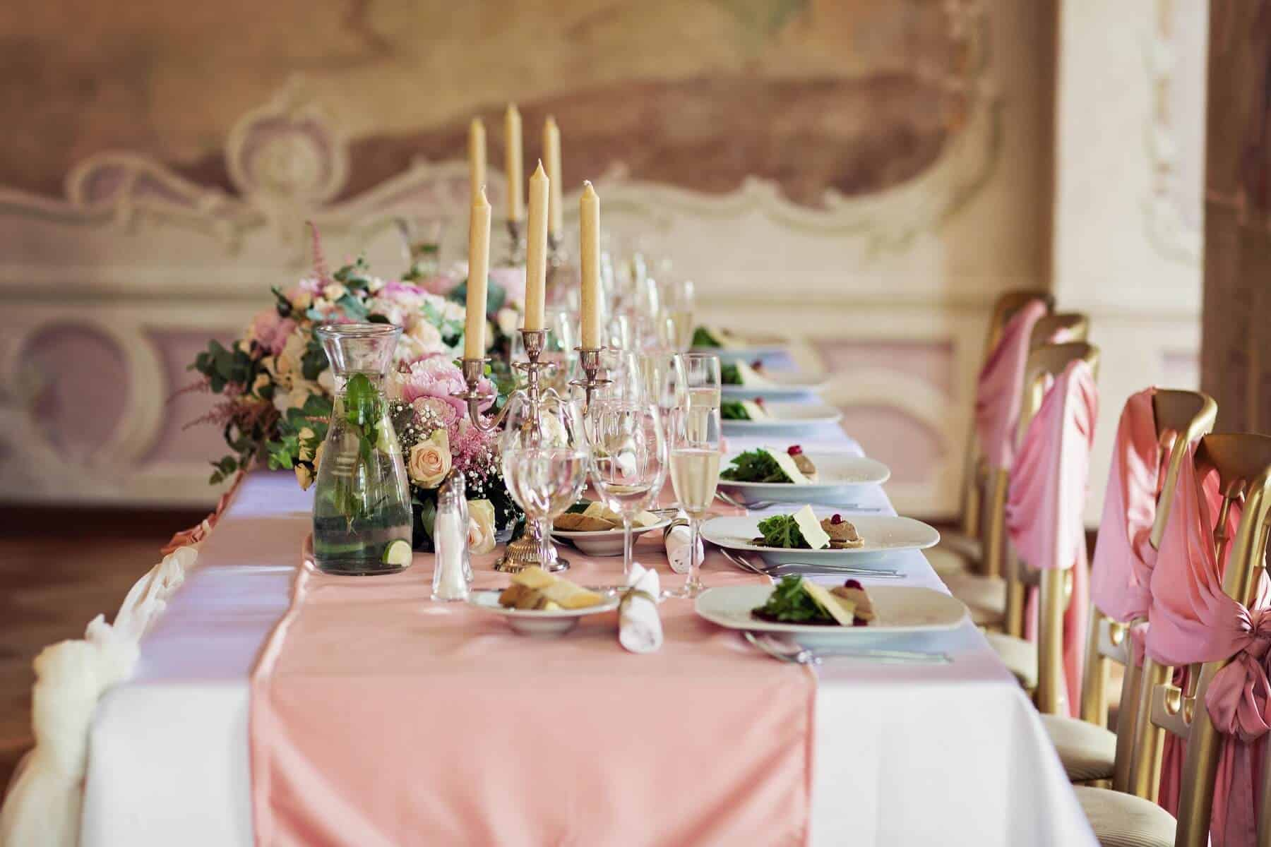 Prague Catering svatební hostina
