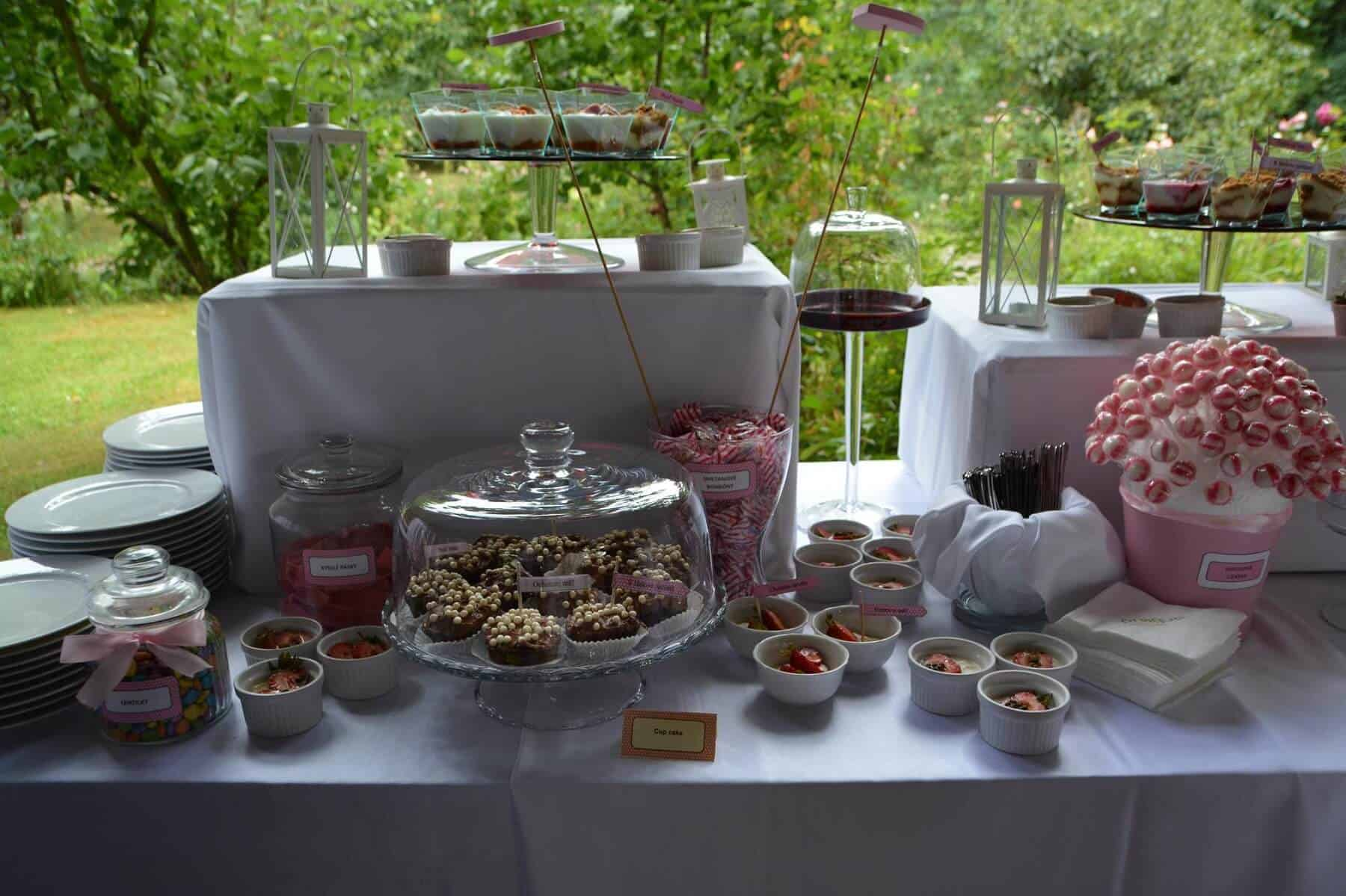 Prague Catering sweet bar