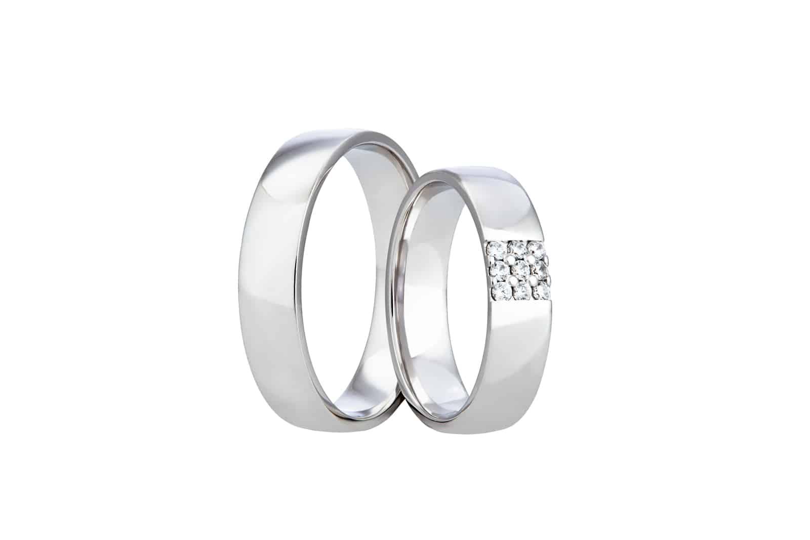 Snubní prsteny jednoduché