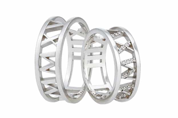 Snubní prsteny vyřezávané