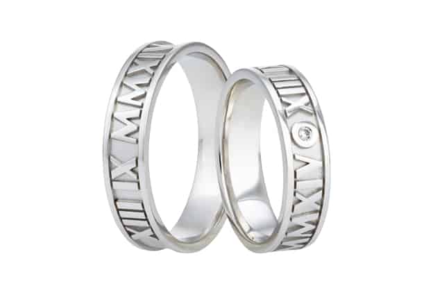 Snubní prsteny číslice