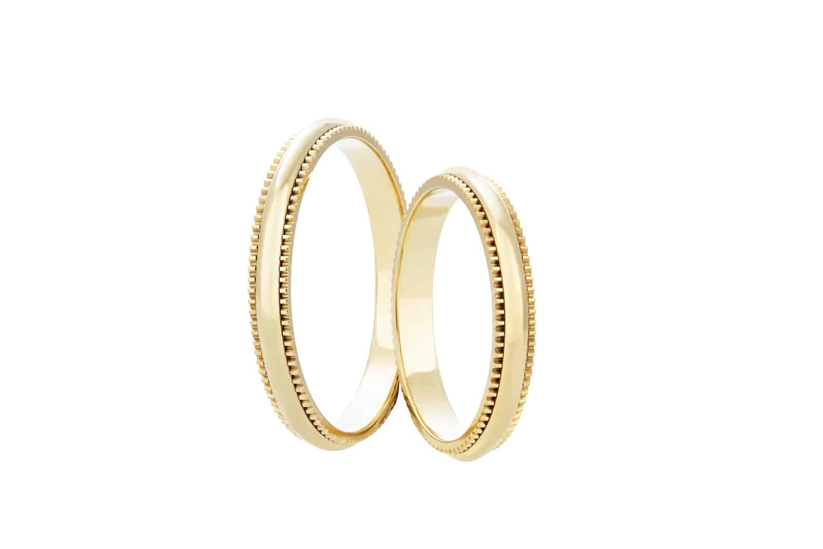 Snubní prsteny zlaté