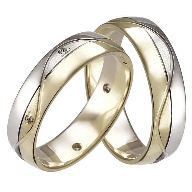 Snubní prsteny Saturnino Colour