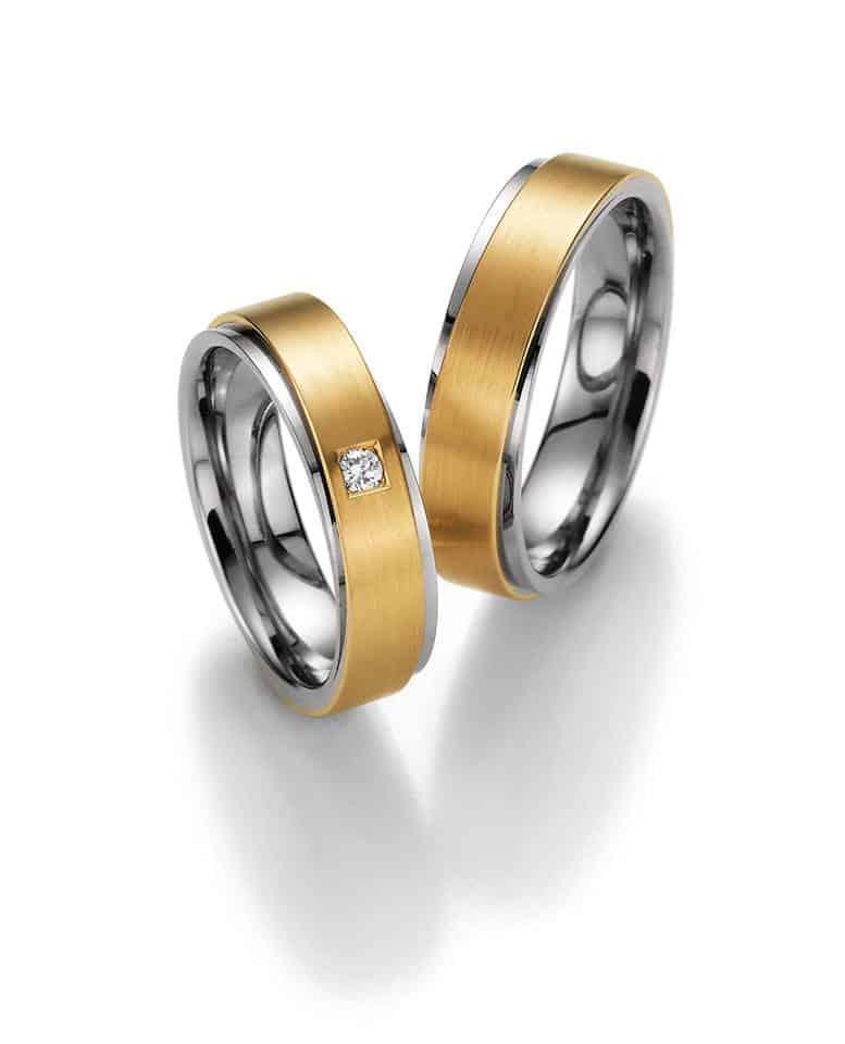 Snubní prsteny s kamínkem - Ráj snubních prstenů
