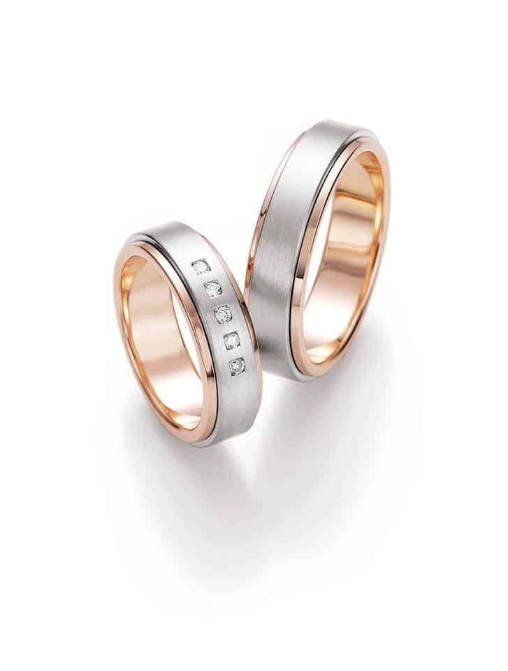 Snubní prsteny s kamínky - Ráj snubních prstenů