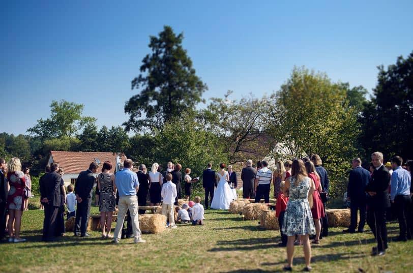 Strnadovský mlýn svatební obřad