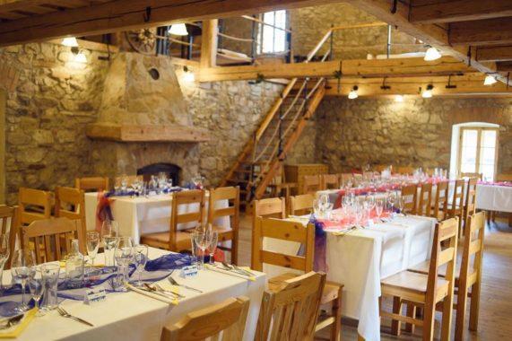 Strnadovský mlýn svatební hostina
