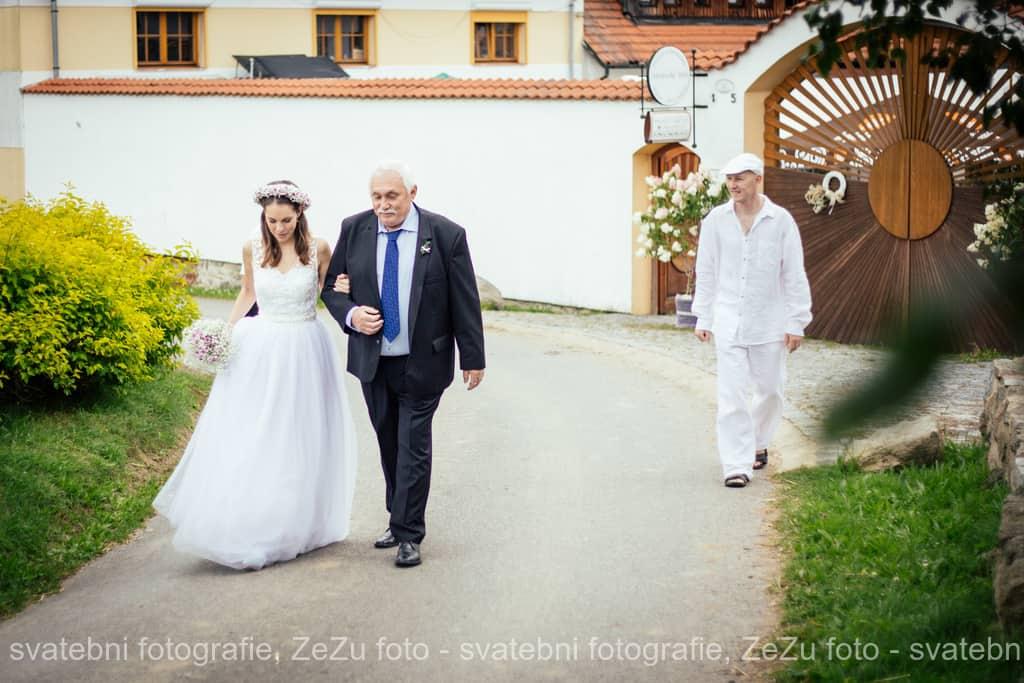 Strnadovský mlýn nevěsta