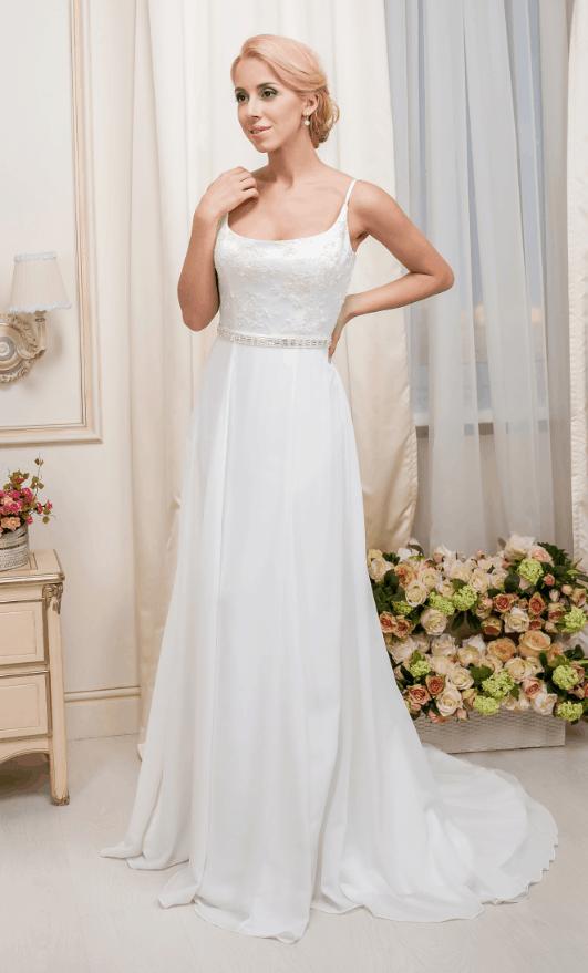 Lehké svatební šaty Salon Adelle