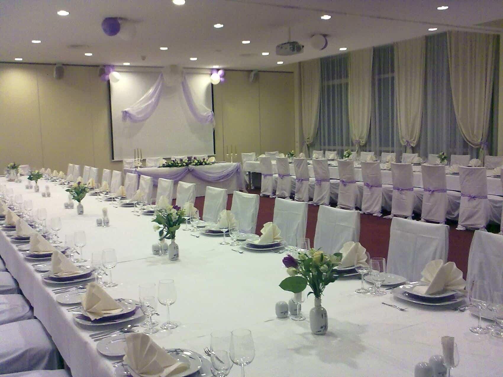 Svatební hostina Resort Sanssouci