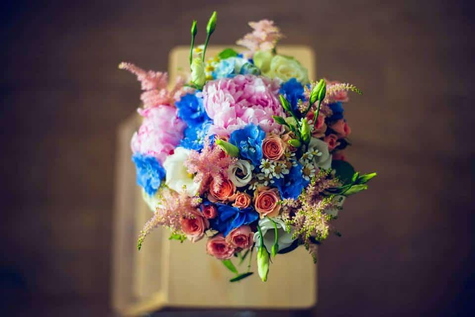 Svatební kytice Studio Flores
