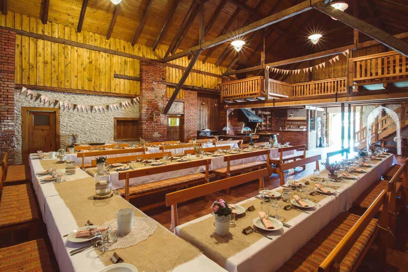 Pivovar Vraník - stodola