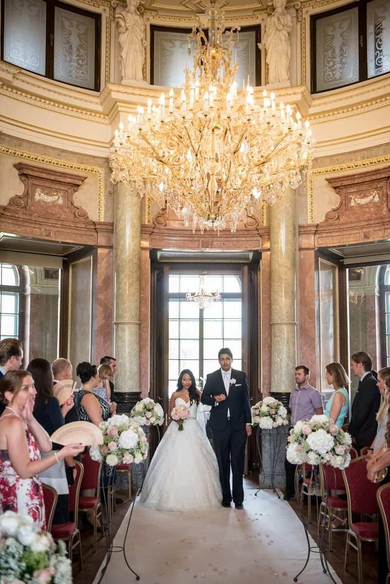 Zámek Liblice svatební obřad