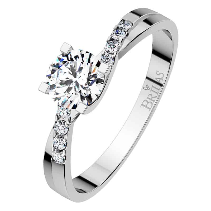 Zásnubní prsten Zante White