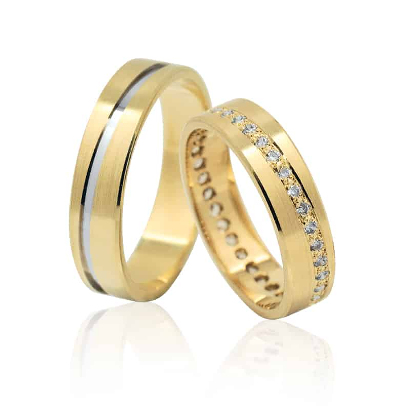 Ráj snubních prstenů elegance 1112SK