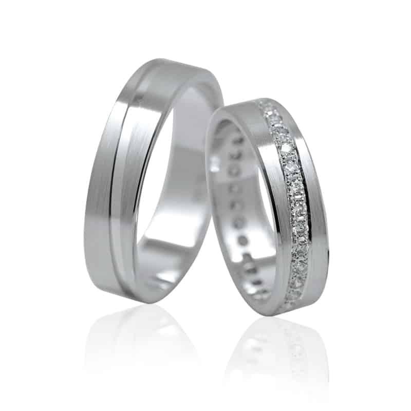 Ráj snubních prstenů elegance 1112s